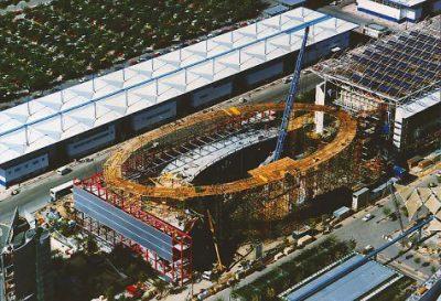 Deutscher Pavillon für die EXPO 1992 in Sevilla